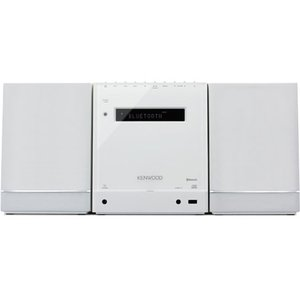 KENWOOD /ケンウッド Bluetooth対応 コンパクトHi-Fiシステム(ブラック)  C-535-W|mnet