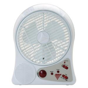 CIRC001 405 LEDライト・FMラジオ搭載 充電式サーキュレーター CIRC-001 mnet