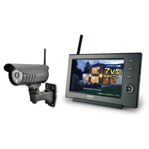 CMS7110 ELPA 録画機能搭載 ワイヤレスカメラ CMS7110|mnet