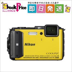 AW130 Nikon COOLPIX デジタルカメラ イエロー AW130|mnet