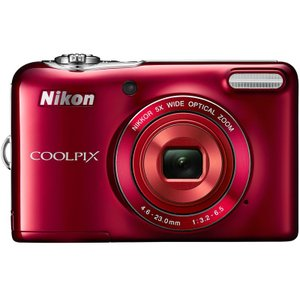 COOLPIXL32RD ニコン COOLPIX 2005万画素 光学5倍ズーム デジタルカメラ レッド COOLPIXL32RD|mnet