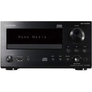 ONKYO ネットワークCDレシーバー ハイレゾ音源対応 シルバー CR-N765(B)|mnet
