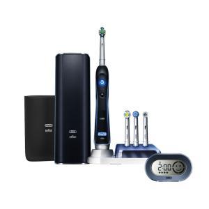 D345456X BRAUN ブラウン オーラルB 電動歯ブラシ プラチナブラック7000 6モードタイプ 「口臭」「着色汚れ」「歯間の汚れ」に対応|mnet