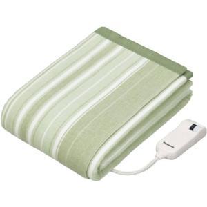 DBR31MSG SEK抗菌防臭加工 パナソニック 電気かけしき毛布 180×130cm グリーン DBR31MSG|mnet