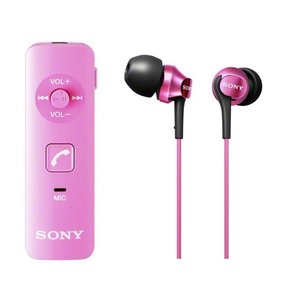 DRCBTN40KP SONY カナル型ワイヤレスイヤホン Bluetooth対応 マイク付 ピンク DRC-BTN40K/P|mnet