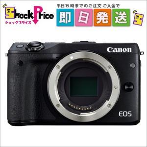 EOSM3BKBODY ミラーレス一眼カメラ EOS M3 ボディ(ブラック) EOSM3BK-BODY|mnet