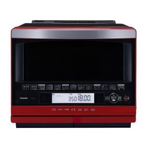 ERND400 東芝 石窯ドーム 過熱水蒸気オーブンレンジ グランレッド ERND400|mnet