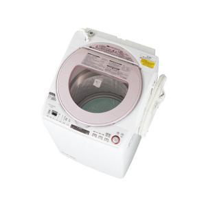 ESTX850P シャープ 穴なしサイクロン洗浄 プラズマクラスター 洗濯乾燥機 ピンク系 ESTX850P|mnet