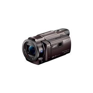 FDRAXP35TI SONY 4Kビデオカメラ Handycam  光学10倍 ブロンズブラウン FDR-AXP35-TI|mnet
