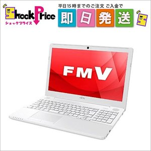 FMVA50A3WP 富士通 FMV LIFEBOOK AH50/A3 15.6型ノートパソコン プレミアムホワイト FMVA50A3WP|mnet