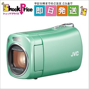 GZN1G JVC ビデオカメラ BabyMovie 内蔵メモリー8GB グリーン GZ-N1-G|mnet