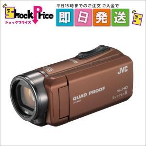 GZR400T JVC ビデオカメラ Everio R 防水5m 防塵 耐低温 耐衝撃 内蔵メモリー32GB ライトブラウン GZR400T|mnet