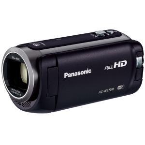 HCW570MK パナソニック iAズーム90倍 デジタルビデオカメラ ブラック HC-W570M-K|mnet