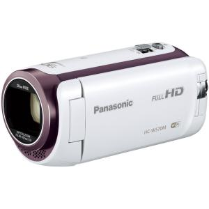 HCW570MW パナソニック iAズーム90倍 デジタルビデオカメラ ホワイト HC-W570M-W|mnet
