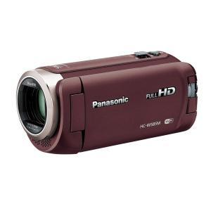 HCW585MT Panasonic HDビデオカメラ W585M 64GB ワイプ撮り 高倍率90倍ズーム ブラウン HC-W585M-T|mnet