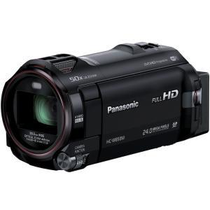 HCW850MK Panasonic デジタルハイビジョンビデオカメラ 内蔵メモリー64GB ブラック HC-W850M-K|mnet