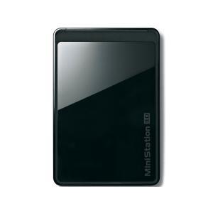 BUFFALO/バッファロー ポータブルHDD 1TB HD-PCT1TU3-BC 外付HDD ターボPC EX2 USB3.0|mnet