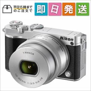 J5HPLKSL Nikon ミラーレス一眼 Nikon1 J5 標準パワーズームレンズキット シルバー|mnet