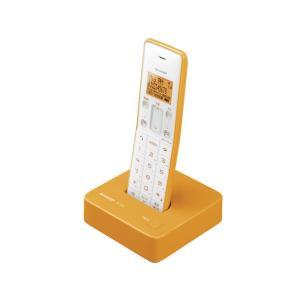 JDS06CLD シャープ DECT 1.9GHz方式採用 デジタルコードレス電話機 オレンジ系 JD-S06CL-D|mnet