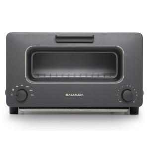 K01AKG バルミューダ The Toaster スチーム機能 温度制御対応 トースター ブラック K01AKG|mnet