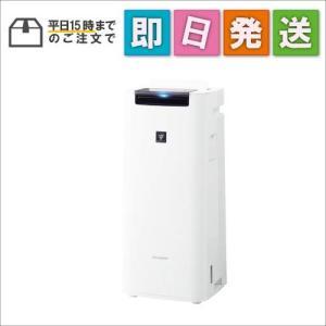 KIHS40W シャープ プラズマクラスター25000搭載 加湿空気清浄機 ホワイト KI-HS40-W mnet