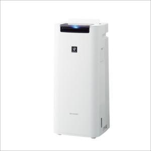 KIJS40W シャープ プラズマクラスター25000搭載 加湿空気清浄機 ホワイト KI-JS40...