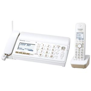 Panasonic デジタルコードレスFAX おたっくす 子機1台付き 1.9GHz DECT準拠方式 ホワイト KX-PD303DL-W|mnet