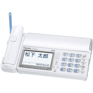 KXPD603DW Panasonic 「見てから印刷」に対応した 親機コードレス電話 おたっくす KX-PD603D-W|mnet