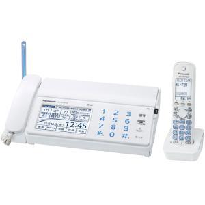 KXPD702DLW Panasonic デジタルコードレスFAX 子機1台付き ホワイト KX-PD702DL-W|mnet