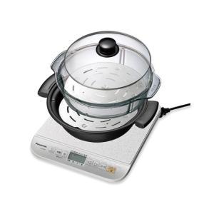 Panasonic パナソニック KZ-PM31-W IH調理器 専用なべ 蒸し板 蒸しケース付属|mnet