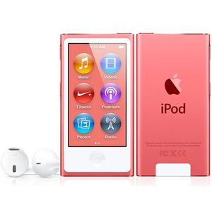 MD475JA APPLE 2.5型液晶 Bluetooth 4.0塔載 第7世代iPod nano 16GB ピンク MD475JA|mnet