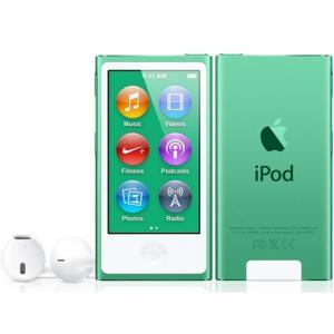 MD478JA APPLE 2.5型液晶 Bluetooth 4.0塔載 第7世代iPod nano 16GB グリーン MD478JA|mnet