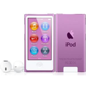 MD479JA APPLE 2.5型液晶搭載 第7世代iPod nano 16GB パープル MD479J/A|mnet