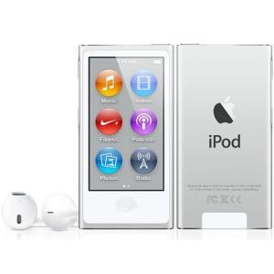 MD480JA APPLE 2.5型液晶 Bluetooth 4.0塔載 第7世代iPod nano 16GB シルバー MD480JA|mnet