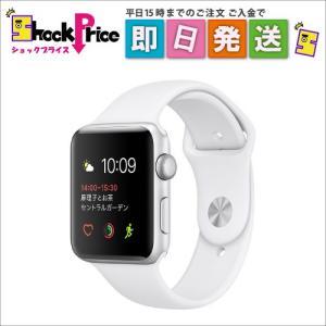 MNRQ2JA Apple Watch Series 2 38mm  [ホワイトスポーツバンド] MNRQ2JA|mnet