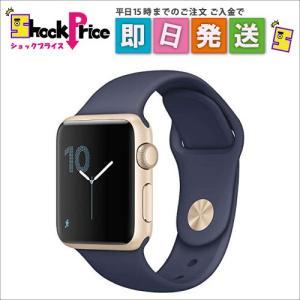 MQ1G2JA Apple Watch Series 2 38mm  [ミッドナイトブルースポーツバンド] MQ1G2JA|mnet