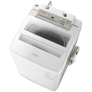 NAFA80H3W パナソニック 8kg 全自動洗濯機 乾燥2kg ホワイト 代引不可 NA-FA80H3-W|mnet