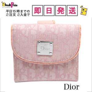NLC43025NYLP1 Christian Dior 折り畳み財布 ピンク系 1069 NLC43025NYLP1|mnet