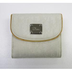 NLC43025NYLW1 Christian Dior 折り畳み財布 ホワイト NLC43025NYLW1|mnet