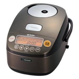 NP-BE10-TD 象印 圧力IH炊飯器 鉄器コートプラチナ厚釜 5.5合 ダークブラウン NP-BE10-TD|mnet
