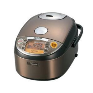 NPNY18XJ 象印/ZOJIRUSHI 極め炊き 炊飯器 圧力IH式 1升 ステンレスブラウン NP-NY18-XJ|mnet