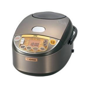 NPVD18 象印/ZOJIRUSHI 極め炊き 炊飯器 IH式 1升 ブラウン NP-VD18-TA|mnet