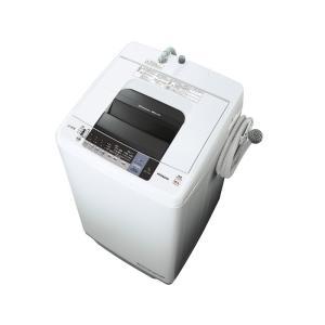 NW7WY 日立 白い約束 シャワー浸透洗浄 7.0kg 全自動洗濯機 ピュアホワイト NW7WY|mnet