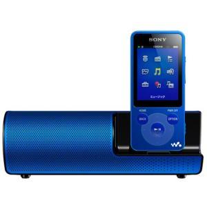 NWE083KLM SONY ウォークマン Eシリーズ 4GB スピーカー付 ブルー NW-E083K/L|mnet