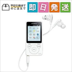 NWS14W SONY ウォークマン Sシリーズ 8GB Bluetooth対応 イヤホン付属 ホワイト NW-S14-W mnet