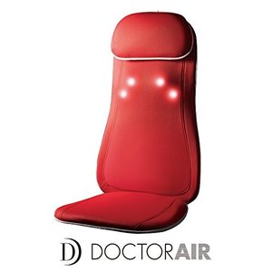 RT-2135-DR ドクターエア 3Dマッサージシート (ディープレッド) RT-2135-DR|mnet