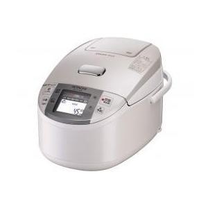 HITACHI/日立 圧力&スチームIHジャー炊飯器(1升炊き) パールホワイトHITACHI 蒸気カット 極上炊き 圧力&スチーム RZ-TV180K-W|mnet
