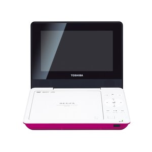 SDP77SP TOSHIBA 7V型 REGZA ポータブルDVDプレーヤー SD-P77SP ピンク|mnet