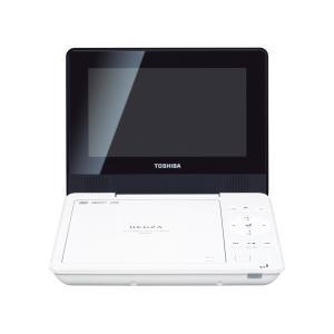 TOSHIBA 7V型 REGZA ポータブルDVDプレーヤー SD-P77SW ホワイト|mnet