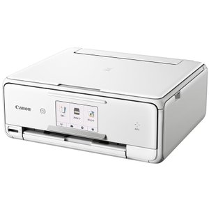 TS8030WH CANON PIXUS 4.3型タッチパネル液晶搭載 A4インクジェット複合機 ホワイト TS8030WH|mnet